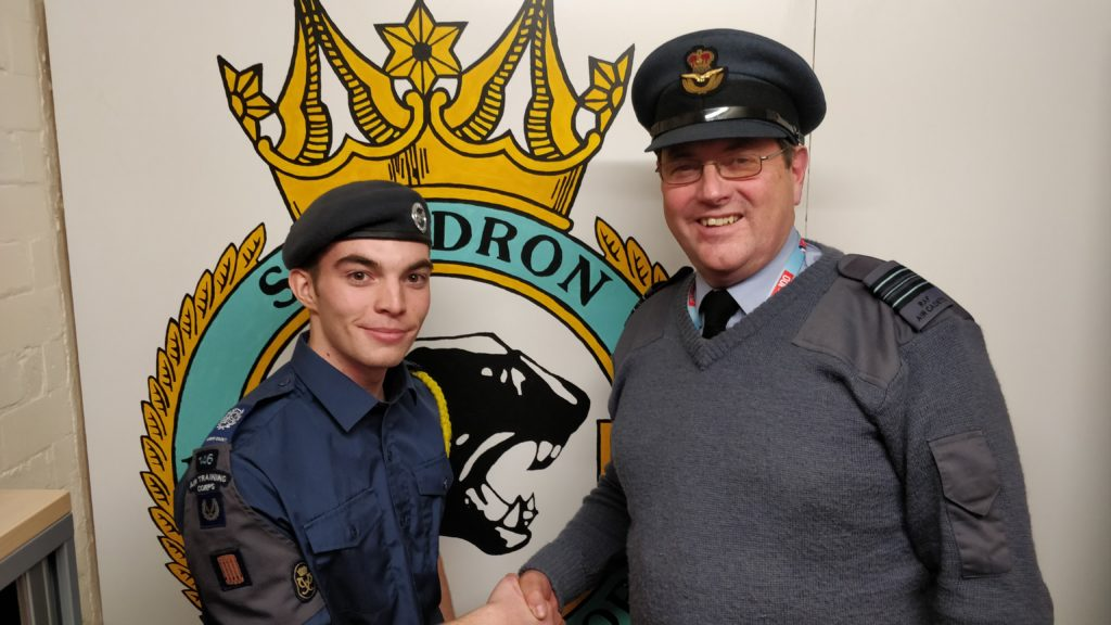 CWO Jessop promotion to CWO