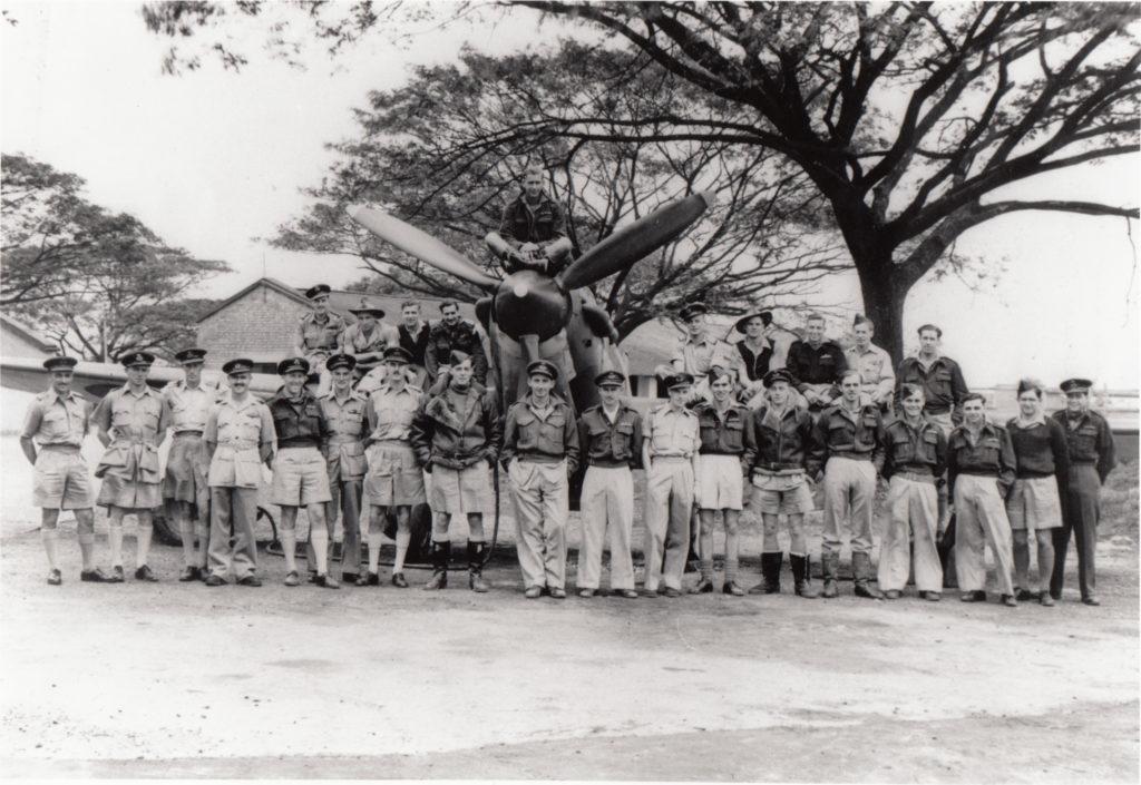 146 Squadron RAF Group Photo